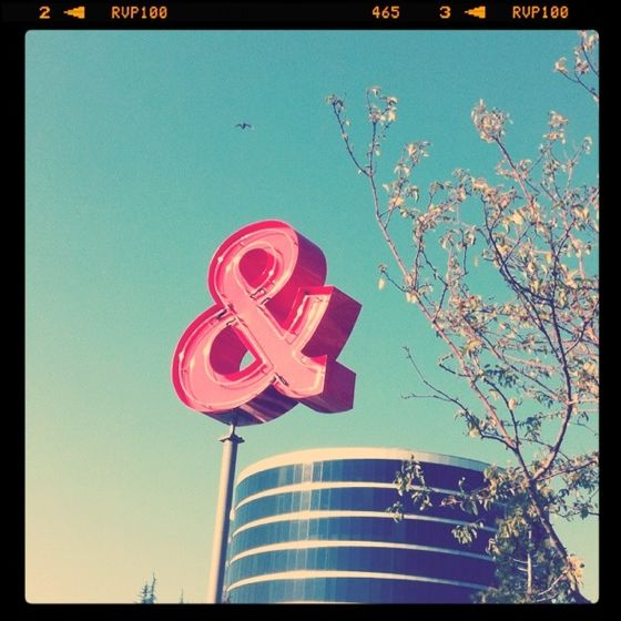 Seattle's most famous ampersand
