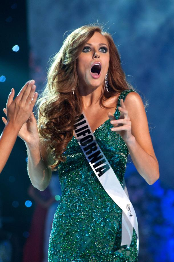 Alyssa Campanella Miss California USA 2011, not DesignHer Momma