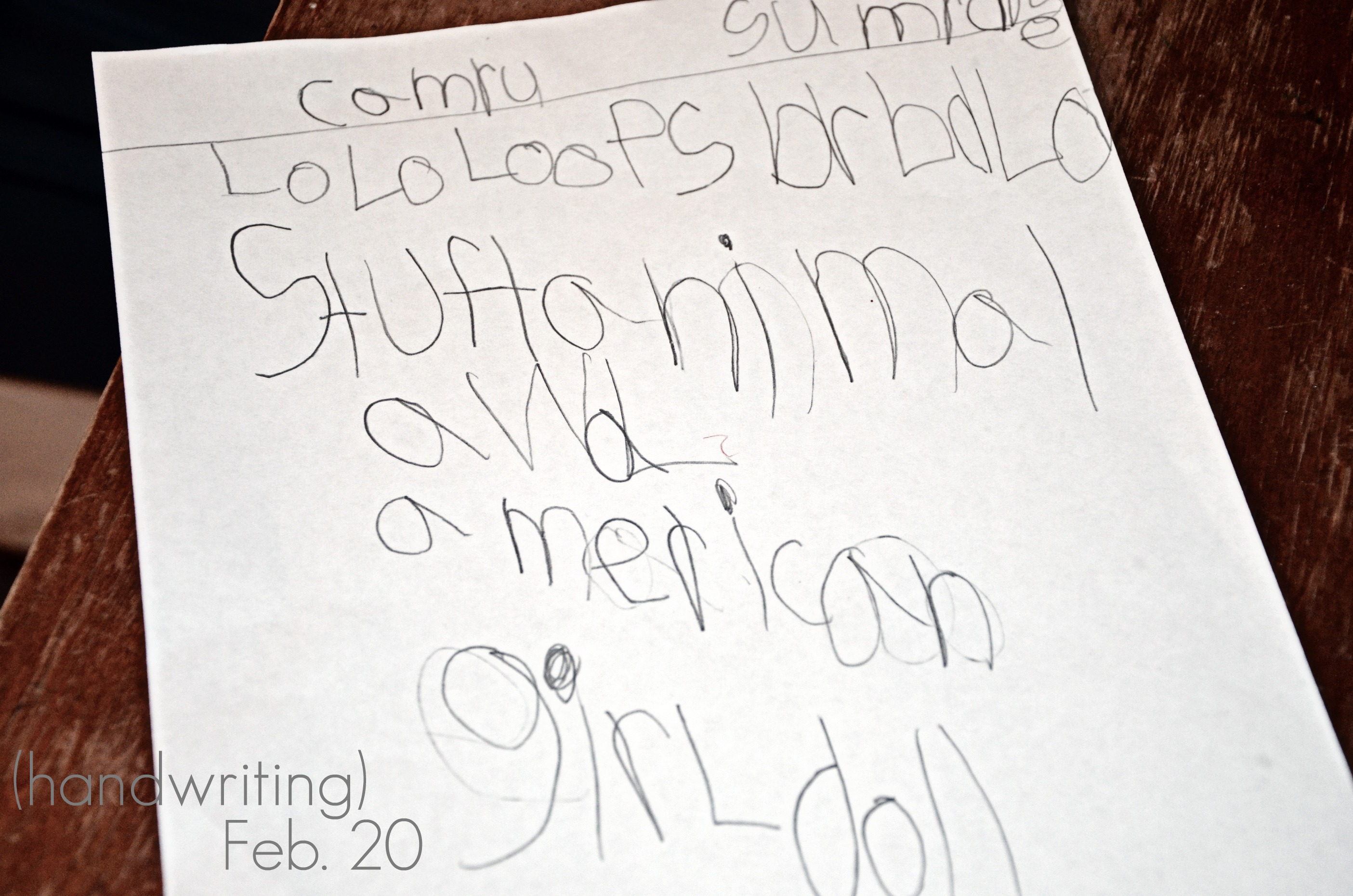 writing 6 year old writing for 6 year oldswhen his first grader comes home with this written. Black Bedroom Furniture Sets. Home Design Ideas