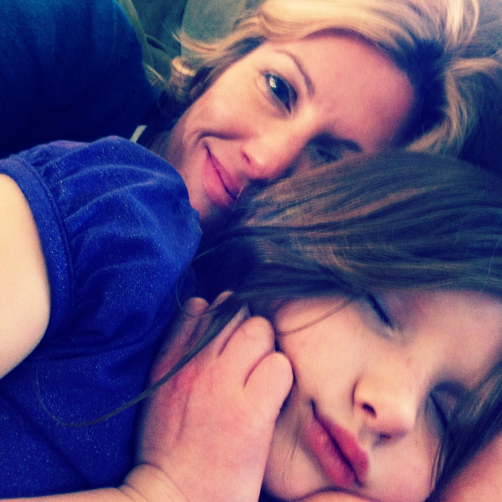 Snugglin' my littlest