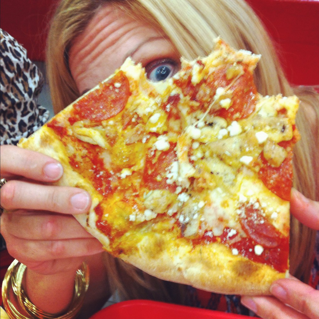 pizza face?