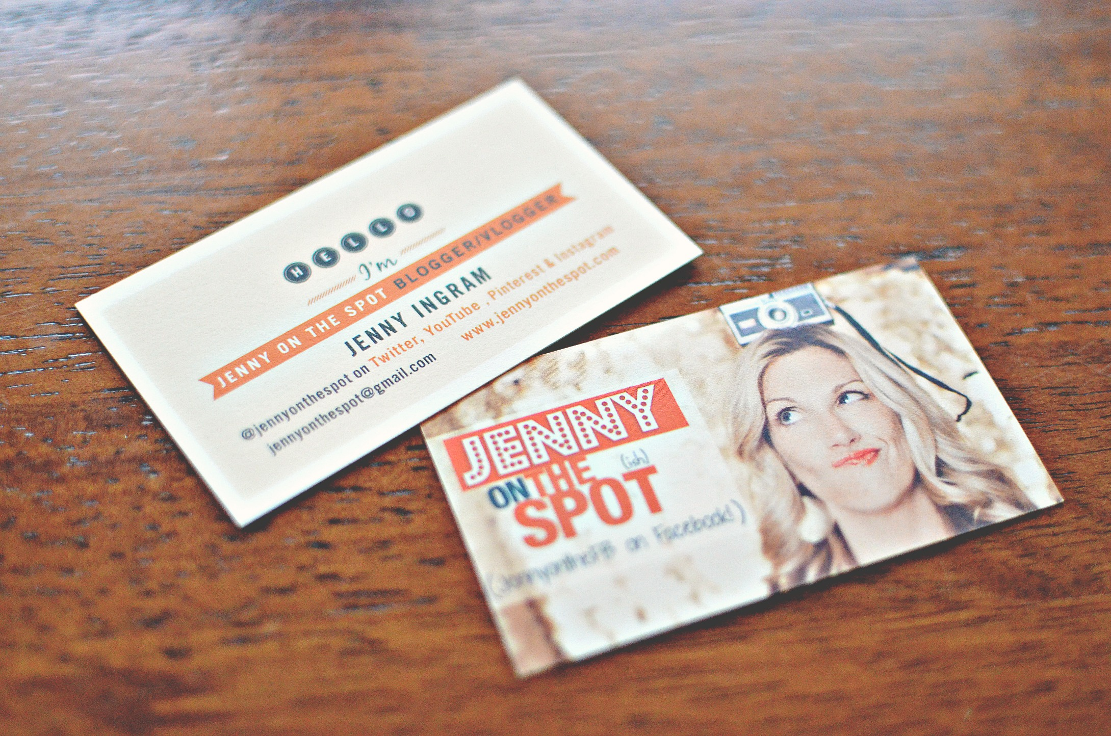 Minted Me = Cool New Business Cards & Personalized Note Cards