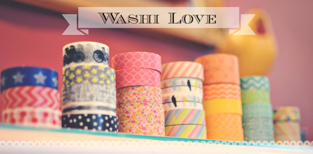 My washi tape collection