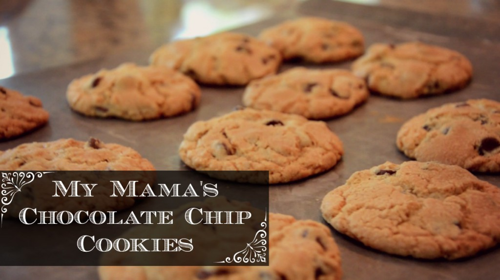 My Mama's Chocolate Chip Cookies via @jennyonthespot