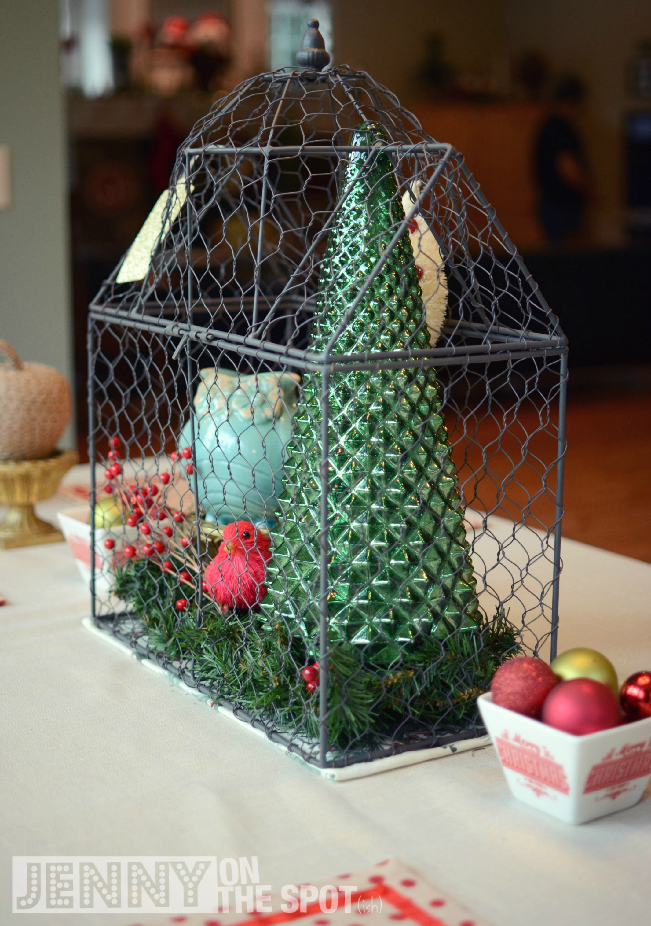 decorating for the holidays with homegoods jenny on the