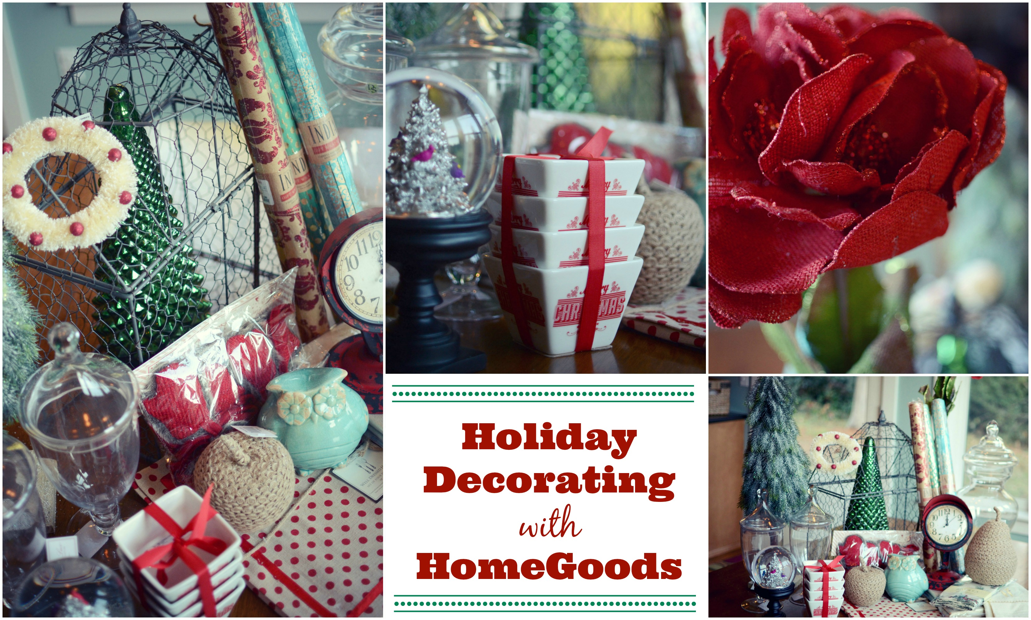 Decorating for the holidays with homegoods jenny on the for Home goods christmas decorations 2013
