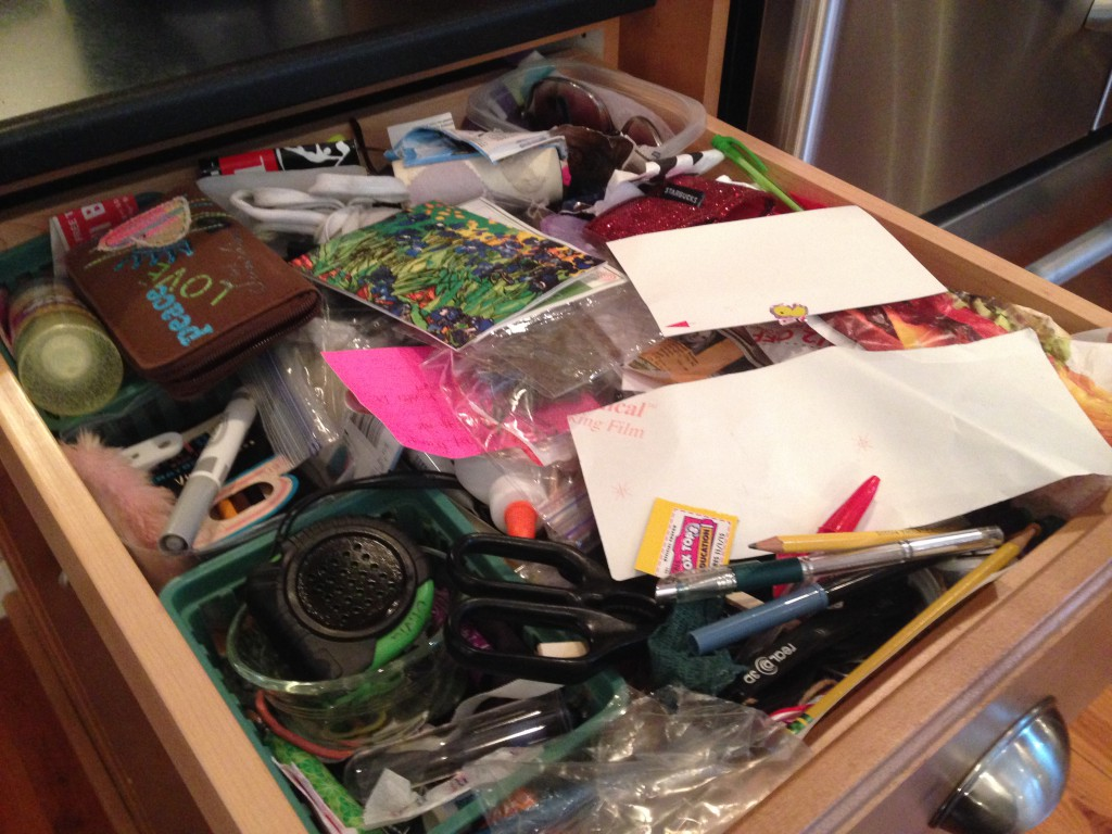 junk drawer - before