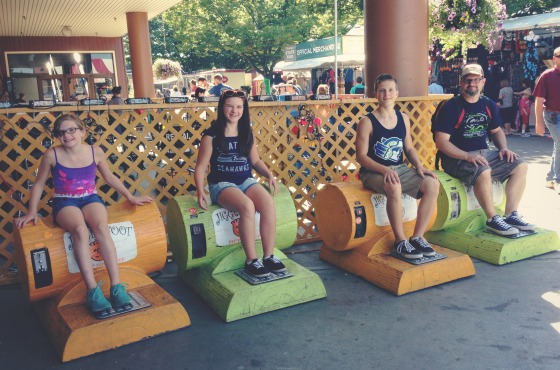 foot massages at the Washington State Fair