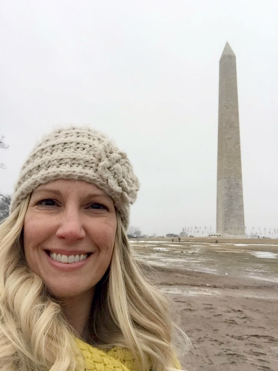 me and the national monument