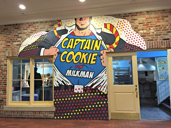Captain Cookie in Washington DC