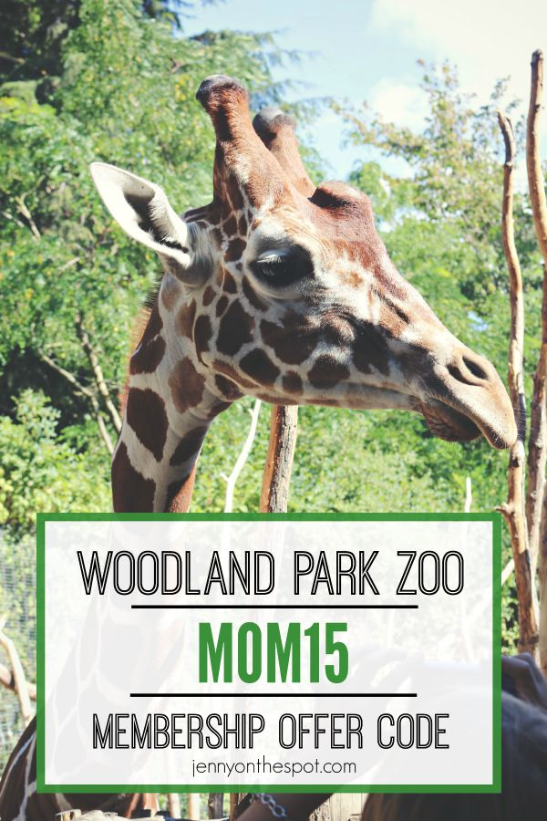 Woodland Park Zoo membership offer code
