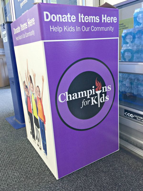 Champions for Kids #FillTheCart