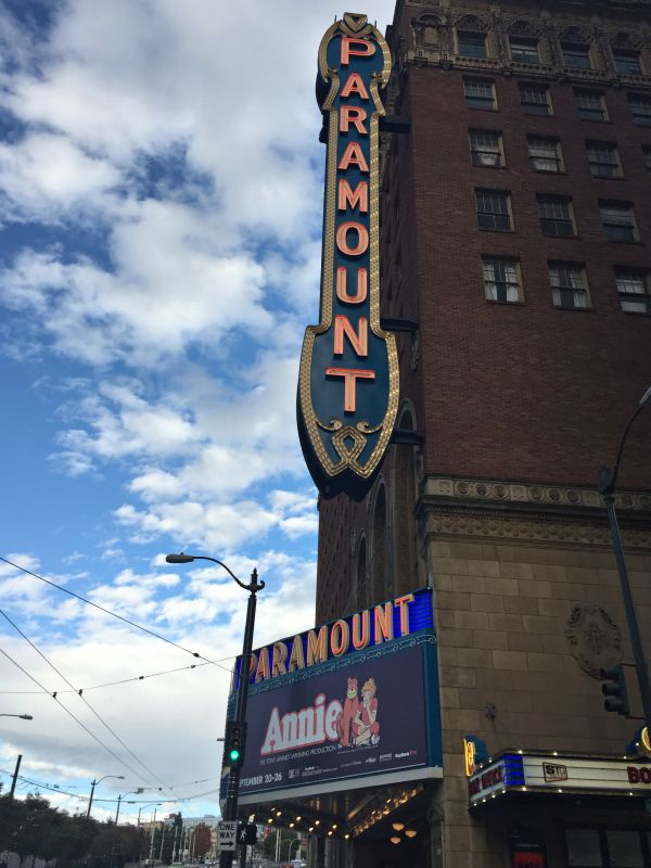 The Paramount Theatre in Seattle