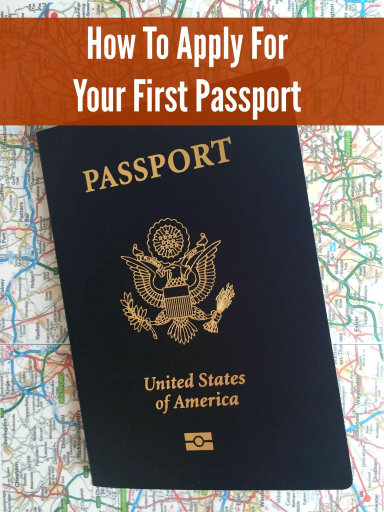 How To Apply For A Passport via @jennyonthespot