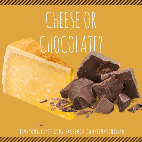 Cheese or Chocolate via @jennyonthespot